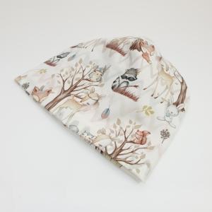 Boho metsloomad meriinovoodriga beanie müts
