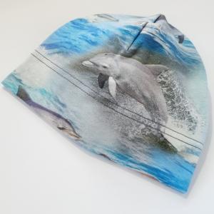 Delfiinid beanie müts