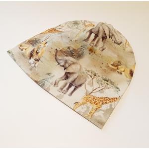 Savanni loomad beanie müts