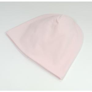 Heleroosa topelt puuvillane müts