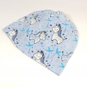 Sebrad sinisel beanie müts