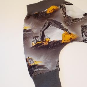 Ehitusmasinad hallil soonikuga püksid