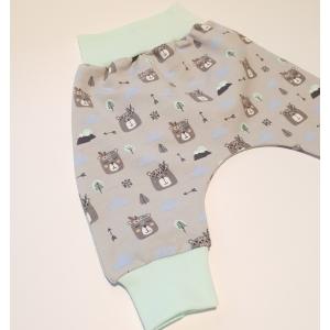 Boho karumõmmid soonikuga püksid
