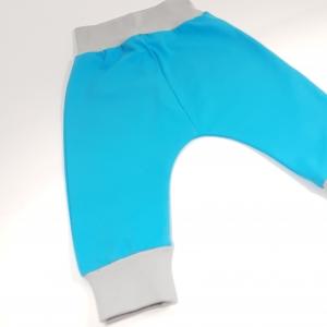 Sinised soonikuga püksid